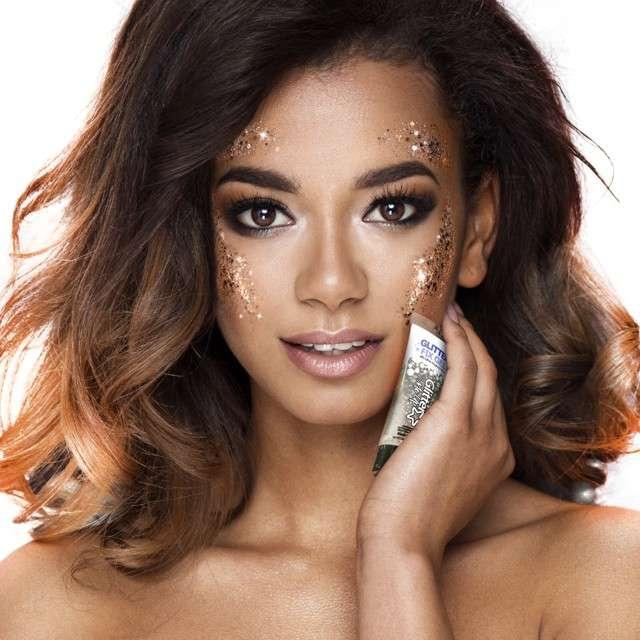 Make-up party Klej żel do makijażu brokatowego  Paint Glow 10 ml
