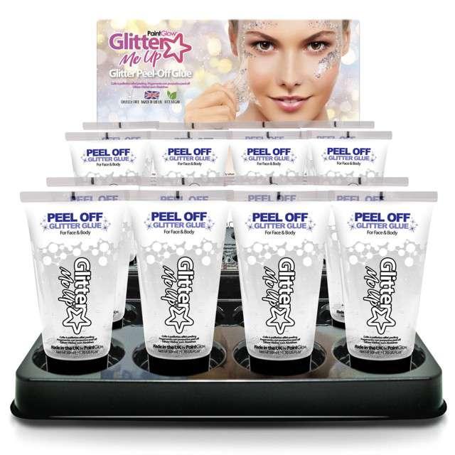 Make-up party Zmywacz do kleju do makijażu Paint Glow 12 ml