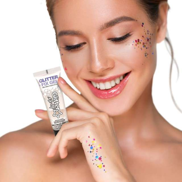 Make-up party Klej do makijażu brokatowego Paint Glow 12 ml