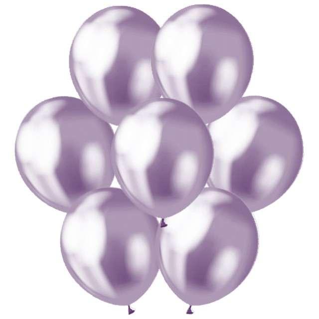 Balony Classic Godan Metalik fioletowy 12 7szt