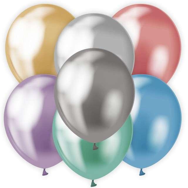 Balony Classic Godan Metalik mix 12 7szt