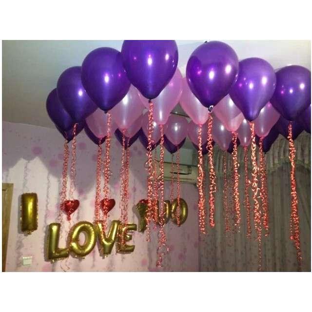 Taśma do balonów Kleksy Aliga 105 mm 100 szt