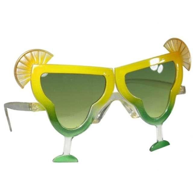 """Okulary party """"Koktajl alkoholowy"""", zielone, Tamipol"""
