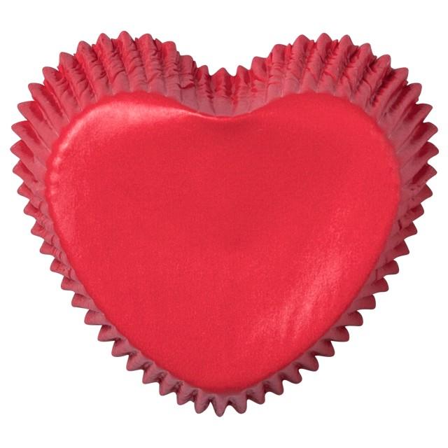 Foremki na muffinki Walentynkowe serca Demmler 24szt