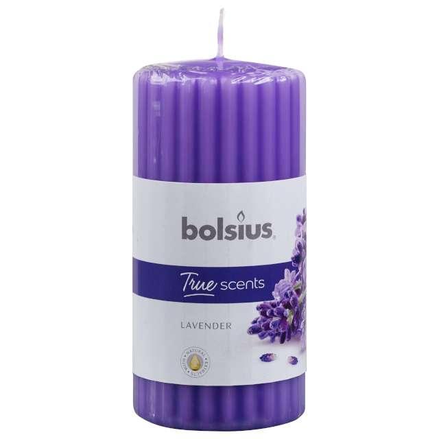 Świeca zapachowa Pieńkowa Lawenda liliowy Bolsius 120/58mm