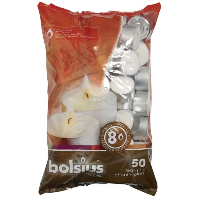 "Podgrzewacz ""Premium 8h"", Bolsius, 50 szt"