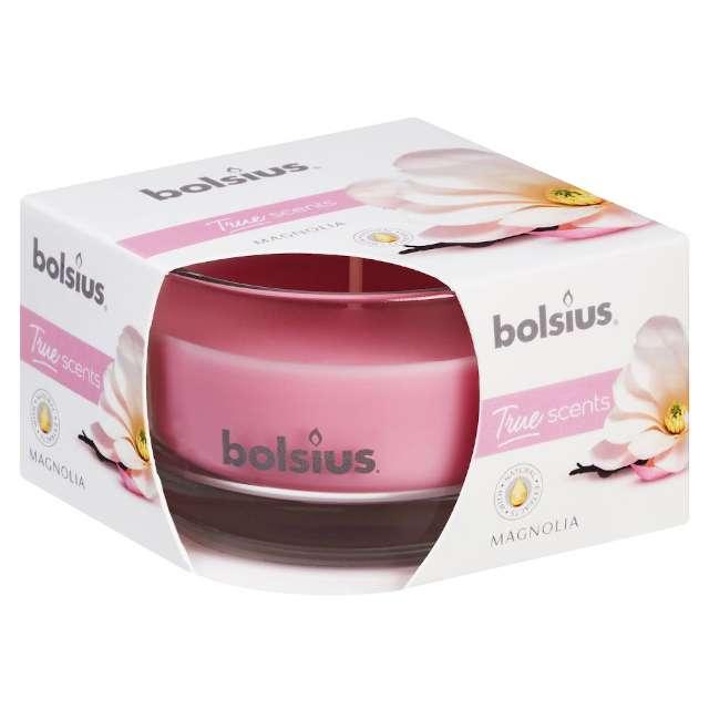 """Świeca zapachowa w szkle """"Magnolia"""", Bolsius, 8,4 cm"""