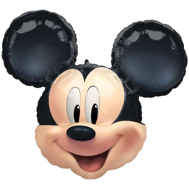 """Balon foliowy """"Mickey Mouse"""", Amscan, 21""""x24, SHP"""