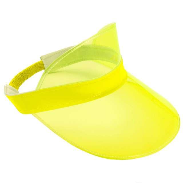 """Czapka """"Daszek lata 80-te"""", żółty, Folat"""