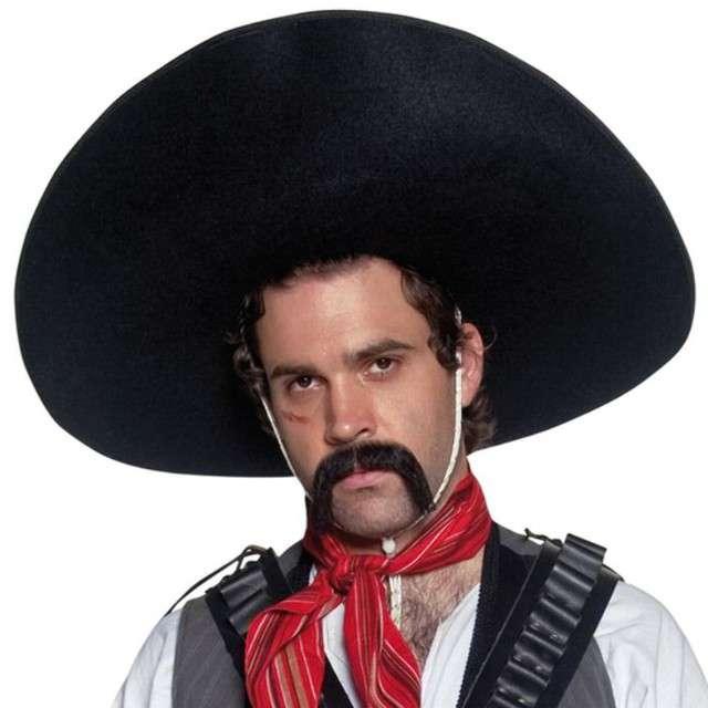 """Kapelusz """"Sombrero czarne"""", Smiffys"""