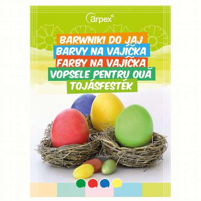 "Barwniki do jajek ""Jajko kolor 4"", mix, Arpex"
