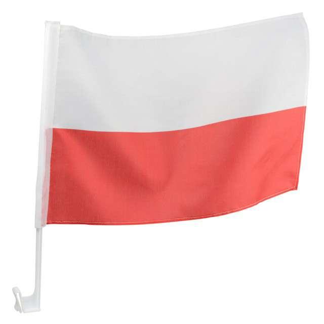"""Flaga samochodowa na szybę """"Polska"""", Arpex"""