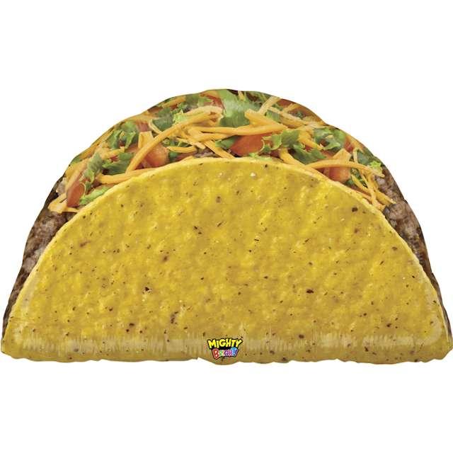 "Balon foliowy ""POTĘŻNE Taco"", Grabo, 32"", SHP"