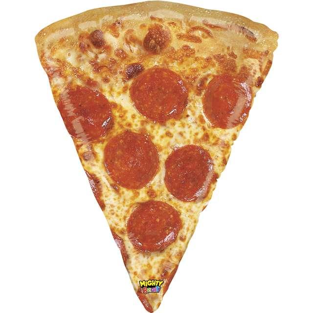 """Balon foliowy """"POTĘŻNA Pizza"""", Grabo, 34"""", SHP"""