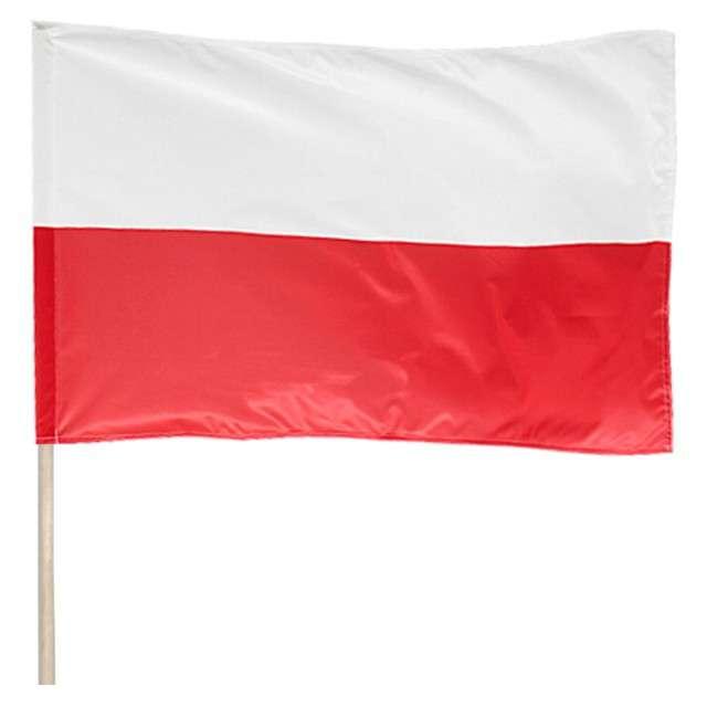 Flaga narodowa Classic na drzewcu Arpex 68x110 cm