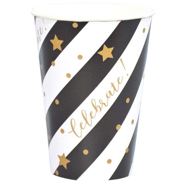 """Kubeczki papierowe """"Celebrate"""", Arpex, 200 ml, 8 szt."""
