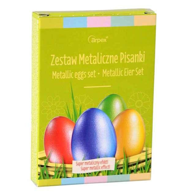 """Barwniki do jajek """"Jajko kolor metaliczny"""", mix, Arpex"""