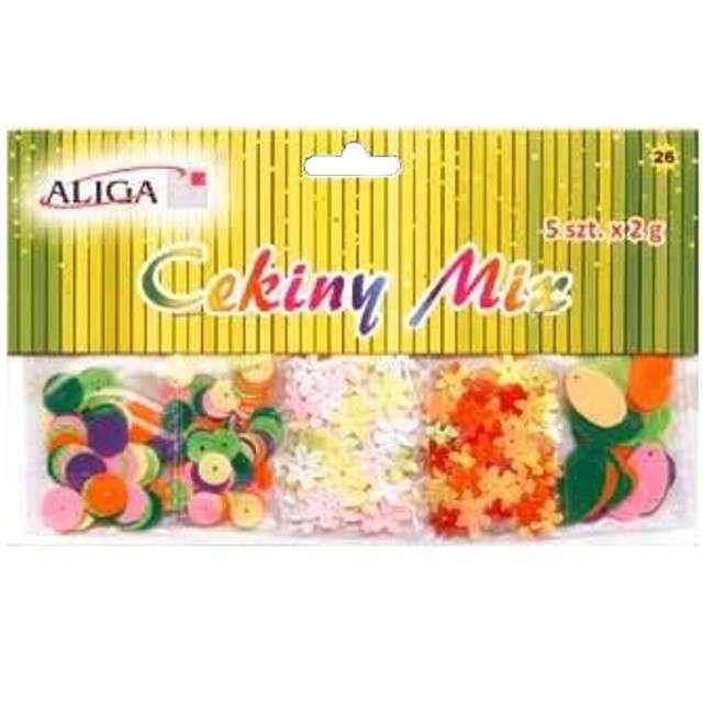 "Cekiny ""Pastel Mix Zestaw "", Aliga"