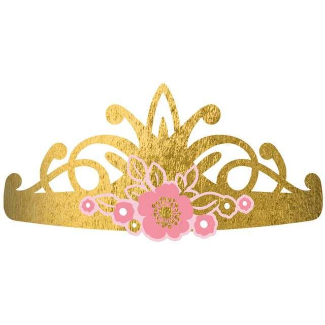 """Tiara """"Urodziny Księżniczki"""", Amscan"""