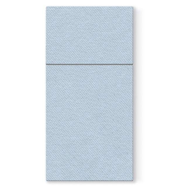 "Kieszonka na sztućce ""Airlaid monokolor"", błękitne, PAW, 40 cm, 25 szt."
