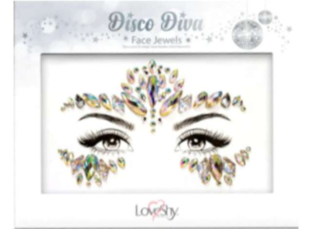 _xx_Face Jewels (Disco Diva) - PACK OF 12