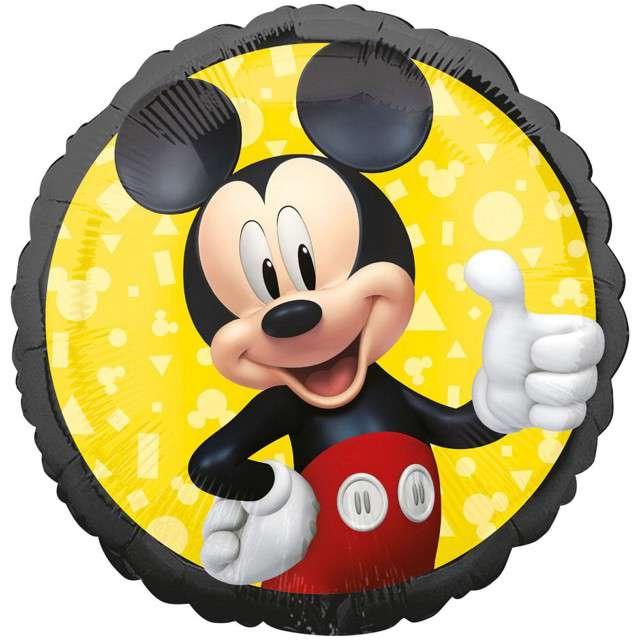 "Balon foliowy ""Mickey Mouse"", Amscan, 18"", CIR"