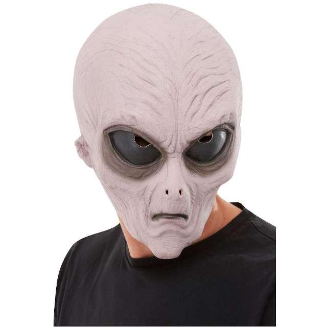 Maska Obcy ufoludek szarak lateksowa Smiffys