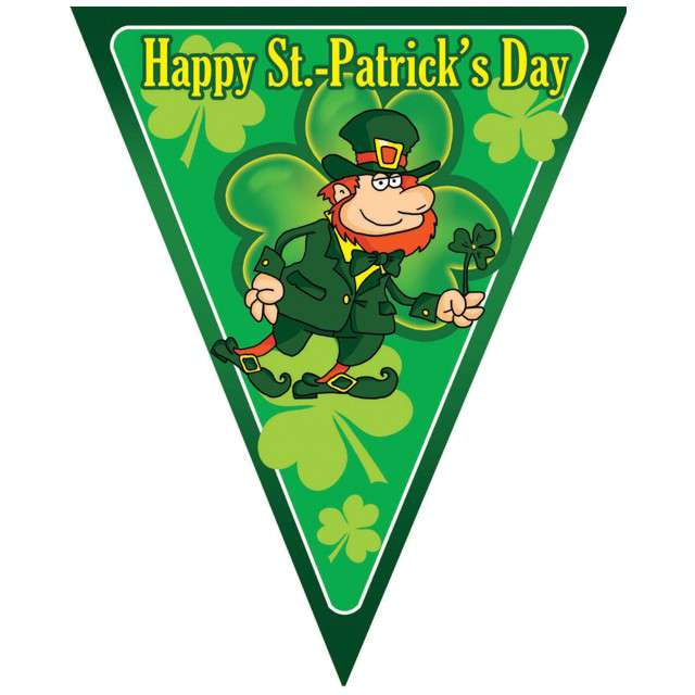 _xx_Flag garland 5m 10 flags St.Patricks Day