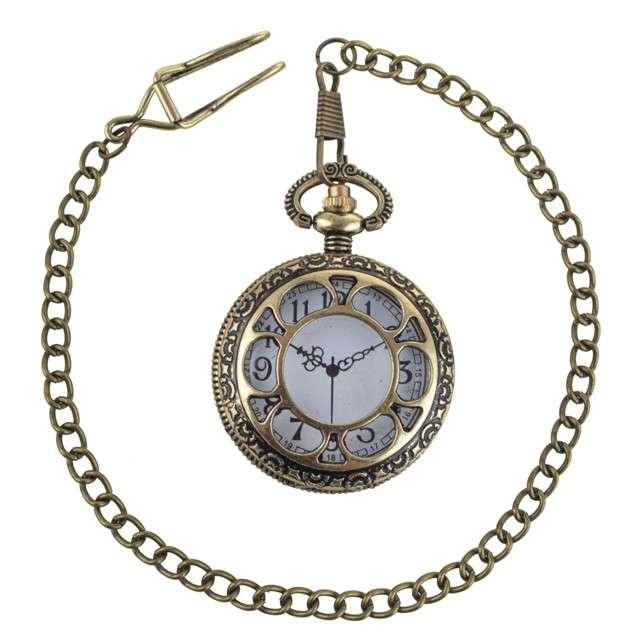 """Dekoracja """"Zegarek kieszonkowy steampunk"""", FunnyFashion"""