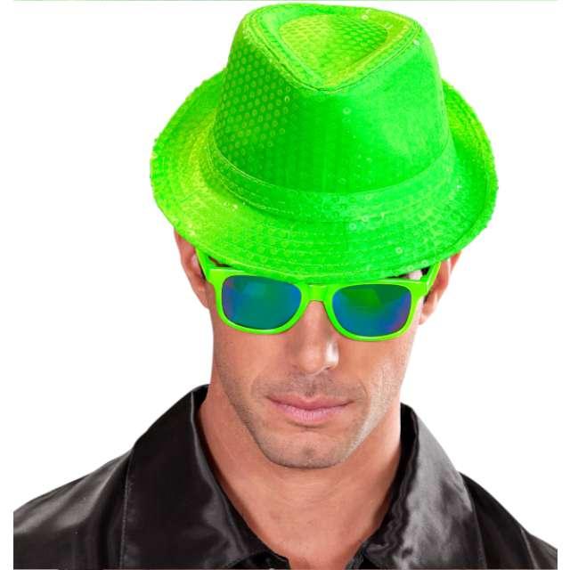 Kapelusz Neon Fedora zielony Widmann