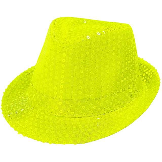 "Kapelusz ""Neon Fedora"", żółty, Widmann"