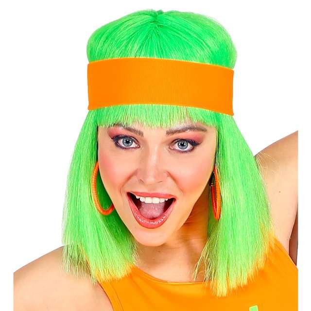 """Opaska elastyczna """"Classic Neon"""", pomarańczowa, Widmann"""