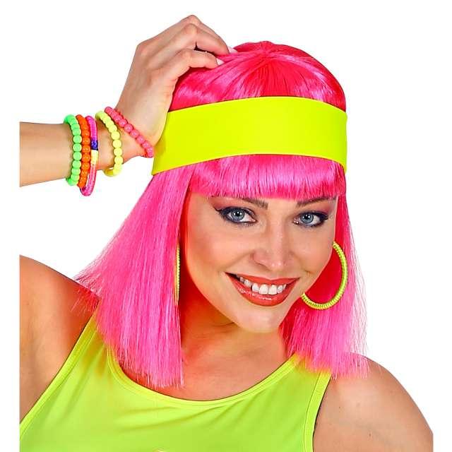 """Opaska elastyczna """"Classic Neon"""", żółta, Widmann"""