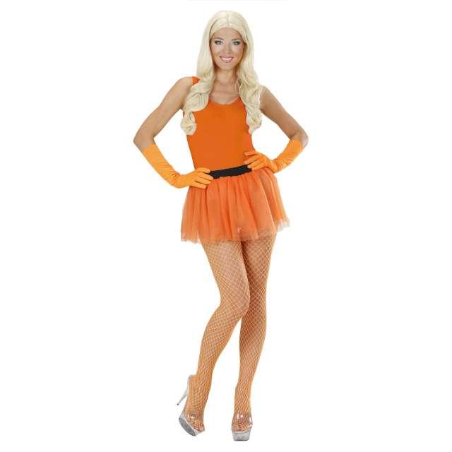Spódniczka tutu Neonowa pomarańczowa. Widmann