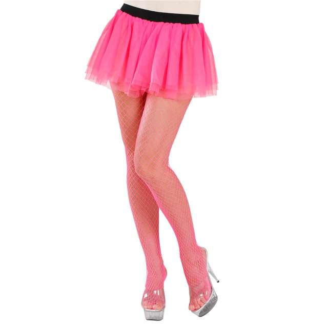Spódniczka tutu Neonowa różowa Widmann