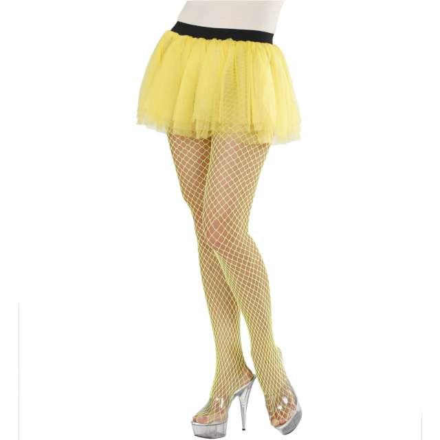 Spódniczka tutu Neonowa żółta Widmann