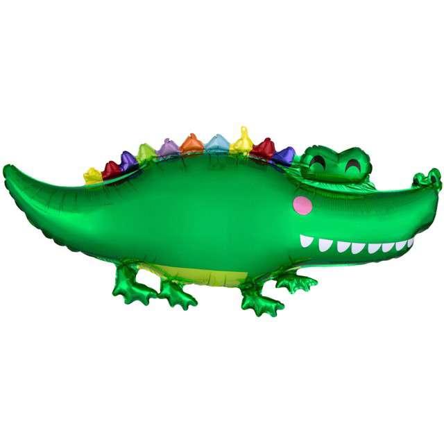 Balon foliowy Krokodyl zielony AMSCAN 42 SHP