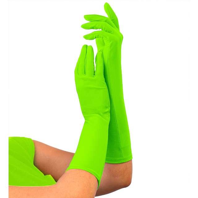 """Rękawiczki """"Classic Neon"""", zielone, Widmann"""