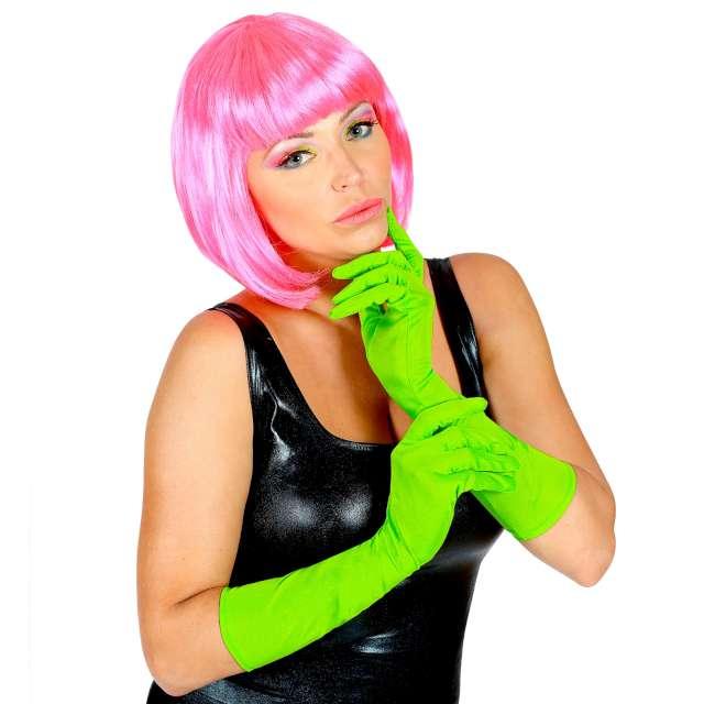 Rękawiczki Classic Neon zielone Widmann