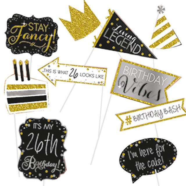 _xx_Photo Booth Kit Sparkling Gold Celebrations P