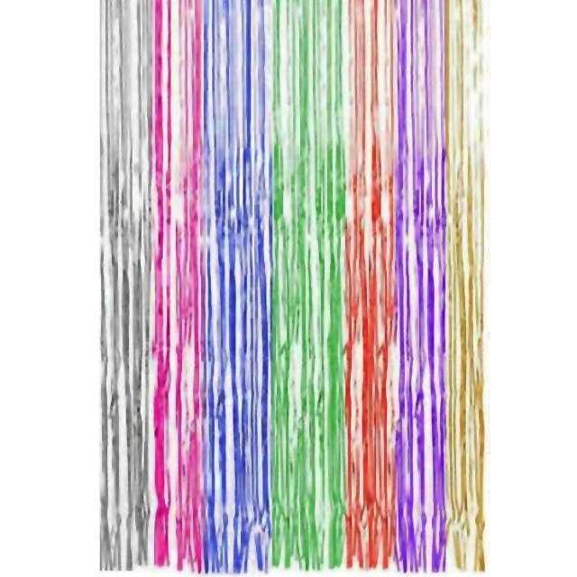 """Kurtyna na drzwi """"Classic"""", tęczowa, Folat, 250 x 90 cm"""