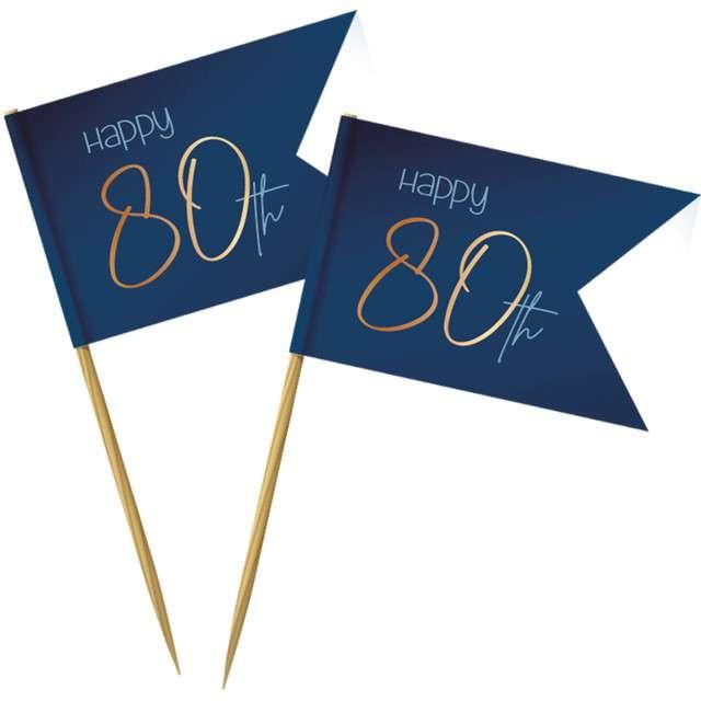 _xx_Cocktail Picks Elegant True Blue 80 Year /36