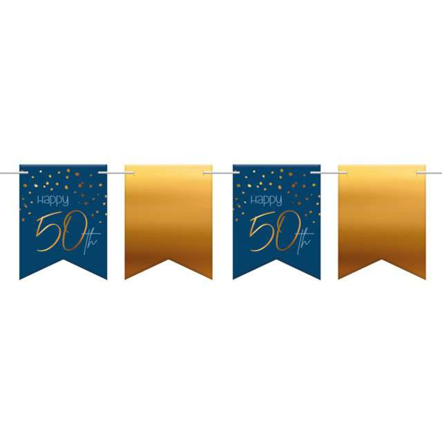 _xx_Flagbanner Elegant True Blue 50 Year 6m