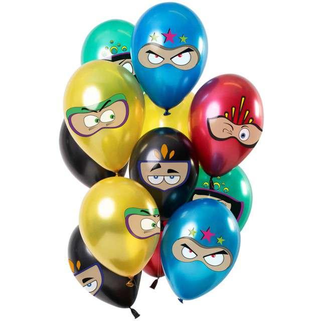 "Balony ""Superbohaterowie"", mix, Folat, 12"", 12 szt."