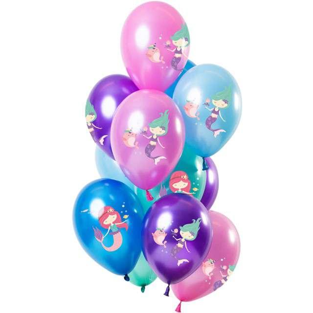 """Balony """"Syreny"""", mix, Folat, 12"""", 12 szt."""