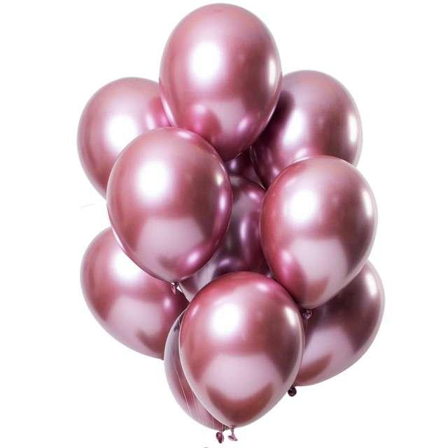 """Balony """"Shiny Pink"""", różowy, Folat, 13"""", 12 szt"""