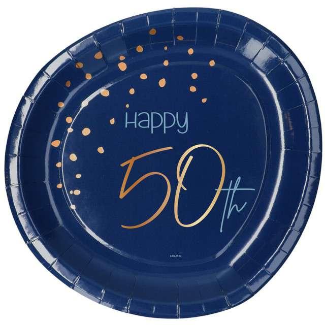 """Talerzyki """"Elegant - Happy Birthday 50"""", Folat"""