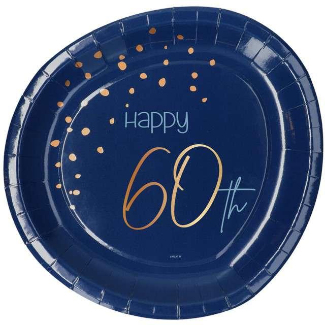 """Talerzyki """"Elegant - Happy Birthday 80"""", Folat"""