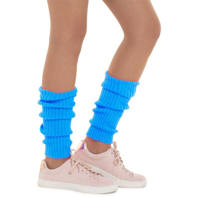 """Getry party """"Ogrzewacz nóg"""", niebieski, Folat"""