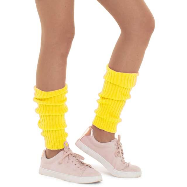"""Getry party """"Ogrzewacz nóg"""", żółty, Folat"""